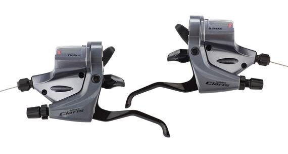 Shimano Claris ST-R240 Schalt-/Bremshebe 3x8-fach silver